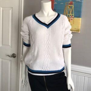 Preppy Tennis Sweater